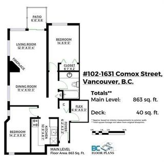 Photo 11: 102 1631 COMOX Street in Vancouver: West End VW Condo for sale (Vancouver West)  : MLS®# R2221908