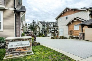 "Photo 18: 28 11720 COTTONWOOD Drive in Maple Ridge: Cottonwood MR Townhouse for sale in ""COTTONWOOD GREEN"" : MLS®# R2249775"