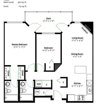 "Photo 16: 113 1155 DUFFERIN Street in Coquitlam: Eagle Ridge CQ Condo for sale in ""DUFFERIN COURT"" : MLS®# R2275763"