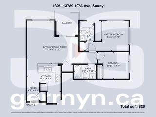 "Photo 24: 307 13789 107A Avenue in Surrey: Whalley Condo for sale in ""Quattro 2"" (North Surrey)  : MLS®# R2292203"