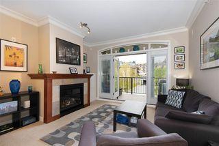 """Photo 1: 309 990 ADAIR Avenue in Coquitlam: Maillardville Condo for sale in """"Orleans Ridge"""" : MLS®# R2366385"""