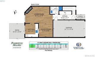 Photo 26: 17 3947 Cedar Hill Cross Road in VICTORIA: SE Cedar Hill Row/Townhouse for sale (Saanich East)  : MLS®# 411763