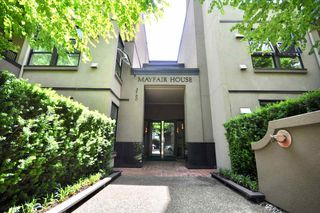 "Photo 1: 208 3760 W 6TH Avenue in Vancouver: Point Grey Condo for sale in ""MAYFAIR HOUSE"" (Vancouver West)  : MLS®# R2377036"