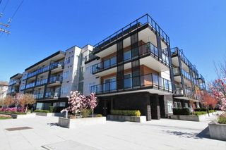 "Photo 1: 112 12070 227 Street in Maple Ridge: East Central Condo for sale in ""STATION ONE"" : MLS®# R2387048"