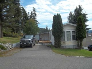 "Photo 1: 28 770 N 11TH Avenue in Williams Lake: Williams Lake - City Manufactured Home for sale in ""FRAN-LEE TRAILER COURT"" (Williams Lake (Zone 27))  : MLS®# R2399801"