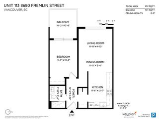 """Photo 20: 113 8680 FREMLIN Street in Vancouver: Marpole Condo for sale in """"COLONIAL ARMS"""" (Vancouver West)  : MLS®# R2416429"""
