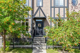 Main Photo: 8 6 Scarpe Drive SW in Calgary: Garrison Woods Row/Townhouse for sale : MLS®# A1057880