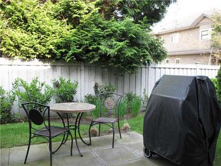 """Photo 10: 11 9600 NO 3 Road in Richmond: Saunders Townhouse for sale in """"THE FIRST AT BROADMOOR"""" : MLS®# V892098"""