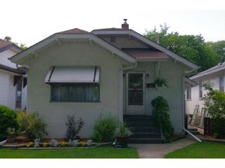 Photo 1: 738 Ingersoll Street in WINNIPEG: West End / Wolseley Residential for sale (West Winnipeg)  : MLS®# 1115065