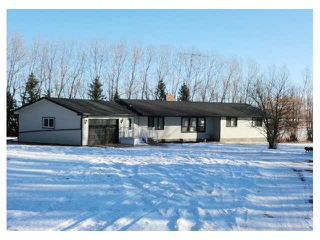 Photo 1: Range Road 4.4 & TWP Road 32.4 in SUNDRE: Rural Mountain View County Residential Detached Single Family for sale : MLS®# C3502695