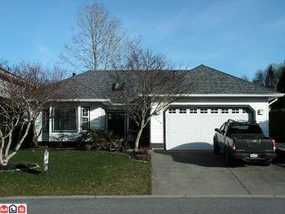 Photo 1: 4150 GOODCHILD Street in Abbotsford: Abbotsford East House for sale : MLS®# F1203357