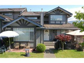 Photo 1: 103 1685 Pinetree Way in Coquitlam: Westwood Plateau Townhouse for sale : MLS®# V903748