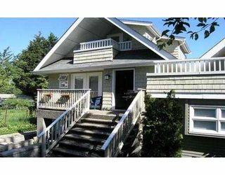 Main Photo: 1207 E 15TH AV in Vancouver: Mount Pleasant VE House 1/2 Duplex for sale (Vancouver East)  : MLS®# V540200