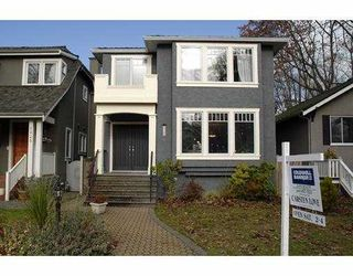 Photo 1: 3313 W 27TH Ave in Vancouver: Dunbar House for sale (Vancouver West)  : MLS®# V620038