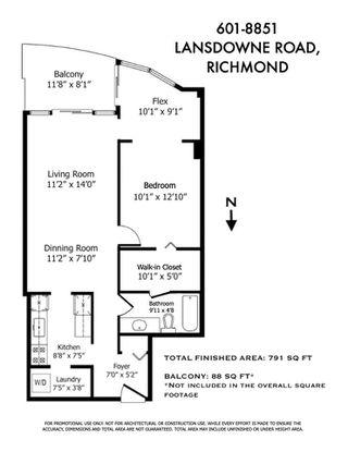 "Photo 23: 601 8851 LANSDOWNE Road in Richmond: Brighouse Condo for sale in ""CENTRE POINTE"" : MLS®# R2479988"