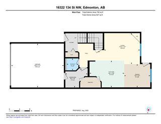 Photo 34: 16322 134 Street in Edmonton: Zone 27 House Half Duplex for sale : MLS®# E4209321