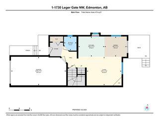 Photo 26: #1 1730 LEGER Gate in Edmonton: Zone 14 House Half Duplex for sale : MLS®# E4217822