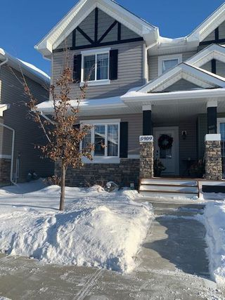 Photo 1: 5909 63 Street: Beaumont Attached Home for sale : MLS®# E4221454