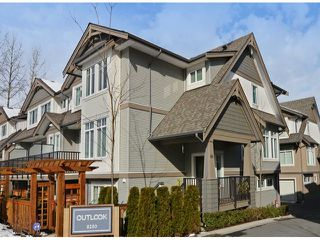 "Photo 1: 86 8250 209B Street in Langley: Willoughby Heights Townhouse for sale in ""OUTLOOK"" : MLS®# F1404078"