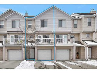 Photo 2: 103 EVERHOLLOW Heights SW in CALGARY: Evergreen Townhouse for sale (Calgary)  : MLS®# C3606499