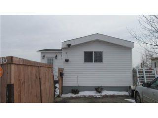 Main Photo: 46 8420 ALASKA Road in Fort St. John: Fort St. John - City SE Manufactured Home for sale (Fort St. John (Zone 60))  : MLS®# N235119