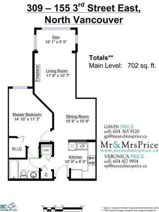 """Photo 13: 309 155 E 3RD Street in North Vancouver: Lower Lonsdale Condo for sale in """"The Solano"""" : MLS®# R2022849"""
