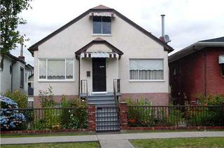 Photo 1: 2371 ADANAC Street: Hastings Home for sale ()  : MLS®# V839888