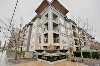 """Photo 1: 418 13321 102A Avenue in Surrey: Whalley Condo for sale in """"Agenda"""" (North Surrey)  : MLS®# R2093962"""