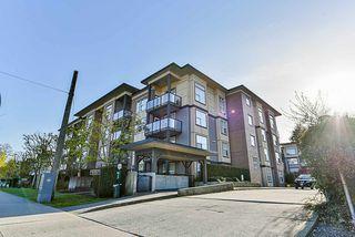 Photo 1: 327 10707 139 Street in Surrey: Whalley Condo for sale (North Surrey)  : MLS®# R2260686
