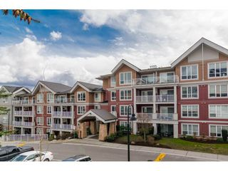 """Photo 1: 215 6440 194 Street in Surrey: Clayton Condo for sale in """"WATER STONE"""" (Cloverdale)  : MLS®# R2319646"""