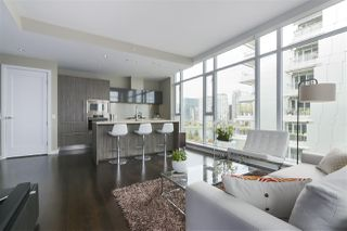 "Photo 3: 708 1616 COLUMBIA Street in Vancouver: False Creek Condo for sale in ""THE BRIDGE"" (Vancouver West)  : MLS®# R2356931"