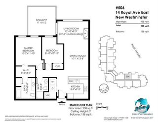"""Photo 22: 506 14 E ROYAL Avenue in New Westminster: Fraserview NW Condo for sale in """"VICTORIA HILL"""" : MLS®# R2526289"""