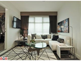 "Photo 1: 316 13468 KING GEORGE Boulevard in Surrey: Whalley Condo for sale in ""The Brookland"" (North Surrey)  : MLS®# F1127520"