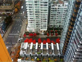 """Photo 5: 2805 111 W GEORGIA Street in Vancouver: Downtown VW Condo for sale in """"SPECTRUM 1"""" (Vancouver West)  : MLS®# V1111393"""