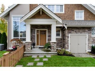 Photo 1: 45 2453 163 Street in Surrey: Grandview Surrey Townhouse for sale (South Surrey White Rock)  : MLS®# R2011671