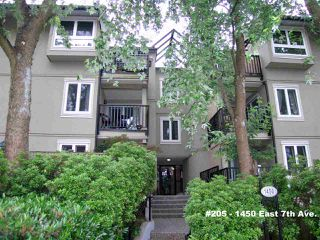 "Photo 1: 205 1450 E 7TH Avenue in Vancouver: Grandview VE Condo for sale in ""RIDGEWAY PLACE"" (Vancouver East)  : MLS®# R2073387"