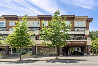 "Photo 1: 105 9655 KING GEORGE Boulevard in Surrey: Whalley Condo for sale in ""The Gruv"" (North Surrey)  : MLS®# R2086741"