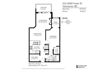 "Photo 19: 413 4550 FRASER Street in Vancouver: Fraser VE Condo for sale in ""CENTURY"" (Vancouver East)  : MLS®# R2186913"