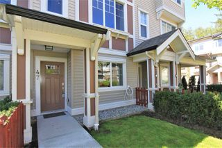 "Main Photo: 47 10151 240 Street in Maple Ridge: Albion Townhouse for sale in ""ALBION STATION"" : MLS®# R2381398"