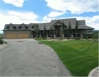 Main Photo:  in CALGARY: Rural Foothills M.D. Residential Detached Single Family for sale : MLS®# C3142135