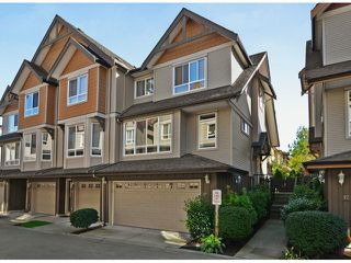 "Photo 1: 13 16772 61ST Avenue in Surrey: Cloverdale BC Townhouse for sale in ""Laredo"" (Cloverdale)  : MLS®# F1322525"