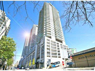 "Photo 1: 1205 888 CARNARVON Street in New Westminster: Downtown NW Condo for sale in ""MARINA AT PLAZA 88"" : MLS®# V1064636"