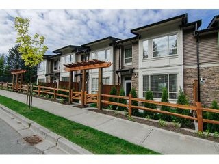 "Photo 1: 7 23986 104 Avenue in Maple Ridge: Albion Townhouse for sale in ""SPENCER BROOK"" : MLS®# V1066703"