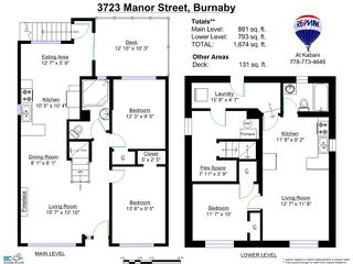 Photo 20: 3723 MANOR Street in Burnaby: Central BN House for sale (Burnaby North)  : MLS®# V1110278