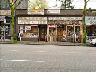 Main Photo: 3660 W 4TH Avenue in Vancouver West: Kitsilano Commercial for sale : MLS®# V4043944