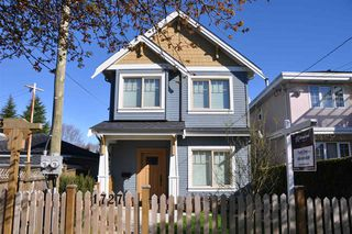 Photo 1: 1727 E 28TH Avenue in Vancouver: Victoria VE House 1/2 Duplex for sale (Vancouver East)  : MLS®# R2051223
