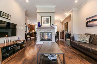"Photo 1: 18 897 PREMIER Street in North Vancouver: Lynnmour Townhouse for sale in ""Legacy at Nature's Edge"" : MLS®# R2059322"
