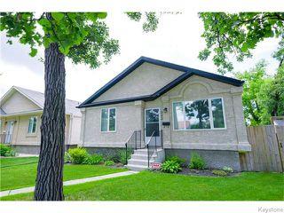 Photo 1: 322 Moray Street in Winnipeg: Residential for sale : MLS®# 1617679