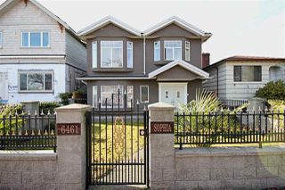 Main Photo: 6461 SOPHIA STREET in Vancouver: Main House for sale (Vancouver East)
