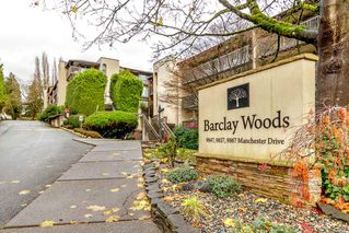 "Main Photo: 204 9847 MANCHESTER Drive in Burnaby: Cariboo Condo for sale in ""Barclay Woods"" (Burnaby North)  : MLS®# R2325845"